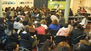 Conferencia en la Universidad Nacional de Lomas de Zamora